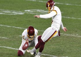 Dustin Hopkins' 45-yard field goal gives Washington first lead