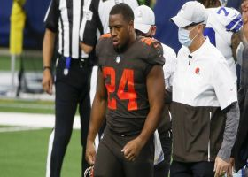 Garafolo: Nick Chubb expected to miss approximately six weeks with MCL sprain