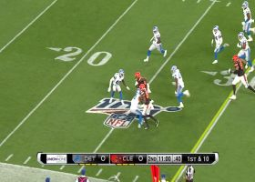 Dontrell Hilliard races past Lions defense for 22 yards