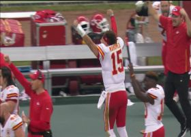 Daniel Sorenson ICES Chiefs' win with stellar end-zone INT