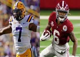 Alabama or LSU: Which WR group from '20-21 drafts would you take?