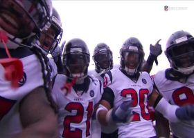 Winston's first pass goes for a Texans pick-six