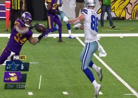 'What a play!' Eric Kendricks wows announcer with WR-esque diving INT