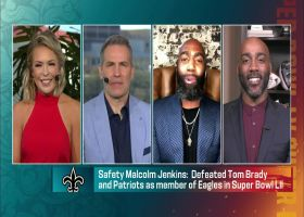 Malcolm Jenkins shares experience facing Tom Brady in Super Bowl LII