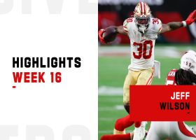Jeff Wilson's best plays from 204-yard game | Week 16