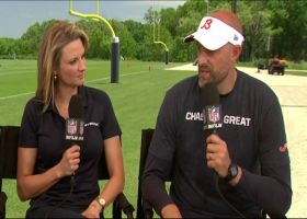 Chicago Bears head coach Matt Nagy on kicking competition: 'Trying to create pressure for our kickers' at practice