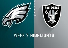 Eagles vs. Raiders highlights | Week 7