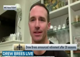 Drew Brees on retirement after 20 seasons: 'I gave it my absolute best'