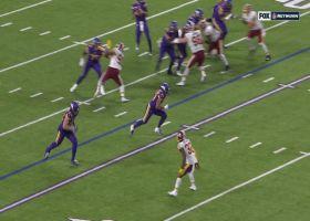 Redskins' D halts Cousins QB sneak on fourth down