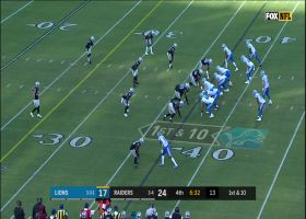 Stafford completes the NO-LOOK lateral on the Hall reverse