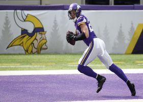 Harrison Smith displays off-the-charts vertical leap on end zone INT