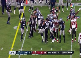 D-Law's peanut punch ends with Randy Gregory's fumble recovery