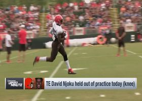 NFL Network's Tom Pelissero: Cleveland Browns exercising 'extreme caution' with tight end David Njoku's knee