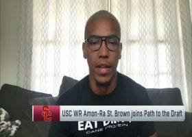 Amon-Ra St. Brown shares three things he's working on ahead of 2021 NFL Draft