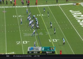 Matthew Stafford submarines pass for slick third-down conversion
