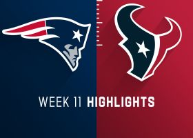 Patriots vs. Texans highlights | Week 11
