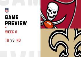Buccaneers vs. Saints preview   Week 8
