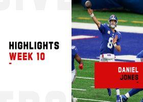 Daniel Jones' best plays from 308-yard game | Week 10