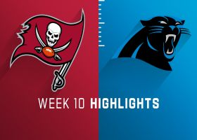 Buccaneers vs. Panthers highlights | Week 10