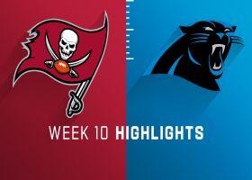 Buccaneers vs. Panthers highlights | Week 10