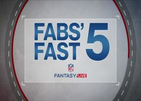 Fabs' Fast 5: Under the Radar Slot Receivers | NFL Fantasy Live