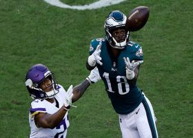 Shelton Gibson makes adjustment in air to pull down 48-yard pass