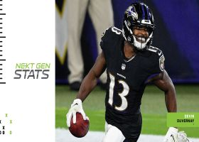 Next Gen Stats: Ravens' five fastest ball carriers so far this season