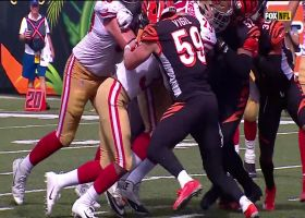 Jeff Wilson's second TD puts 49ers up 41-10