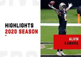 Every Alvin Kamara rushing TD | 2020 season
