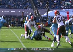 Browns have great field position after hopping on Henry's fumble