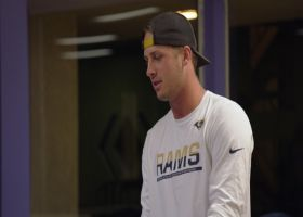 'Hard Knocks': Goff, Pharoh Cooper face off in ping-pong battle