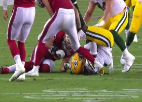 De'Vondre Campbell pounces on Jimmy G's fumble to give Packers key takeaway