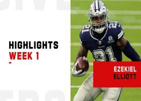 Ezekiel Elliott's best plays from 2-TD game | Week 1