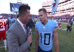Adam Humphries talks about Titans' game-winning TD drive vs. Chiefs