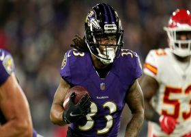 Devonta Freeman's first carry with Ravens goes for 31 yards