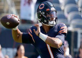 Pelissero: Justin Fields 'is in line to make his first NFL start' in Week 3