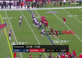 Perriman pinballs off defender for 19-yard gain