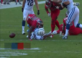 Devin White forces key fumble for Bucs
