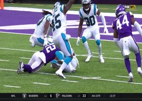 Panthers recover Chad Beebe's muffed punt in key situation