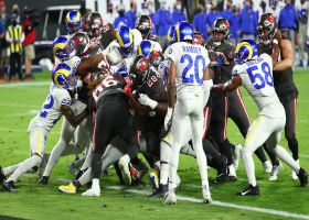 Leonard Fournette powers in TD behind strong push from Bucs' OL