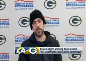 Aaron Rodgers: Aaron Donald is 'obviously a first-ballot Hall of Famer'