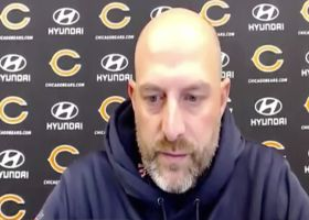 Matt Nagy discusses path forward after Bears' fifth straight loss