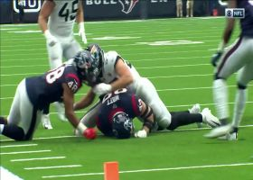 Texans sniff out Jags' trickery to force James Robinson fumble