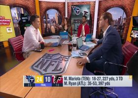 Kyle Brandt: Marcus Mariota had best half of his NFL career vs. Atlanta Falcons