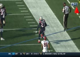 J.C. Jackson delivers clutch sideline INT when Pats need it most
