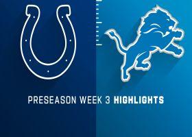 Colts vs. Lions highlights | Preseason Week 3