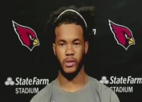 Kyler Murray on 'SNF' win: 'These are the games you dream about'