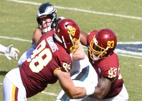 Ioannidis overwhelms Eagles blockers for Washington's SEVENTH sack