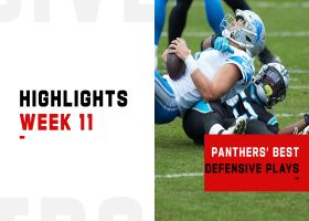 Panthers' best defensive plays from shutout win | Week 11