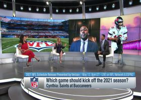 Who should the Bucs play to kick off '21 season? | 'NFL Total Access'